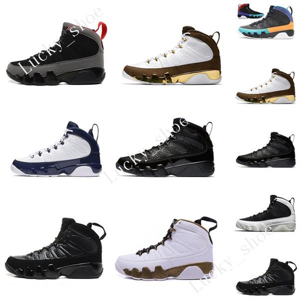 2019 New 9 9s Dream It Do It UNC Mop Melo Mens Basketball Shoes LA OG Space Jam men Bred Anthracite Black sports sneakers designer Eur 40-47
