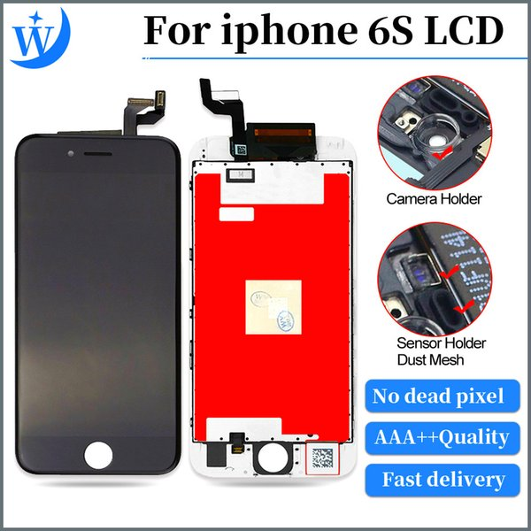 A+++++ Quality 100% Good Working LCD display for iphone 6s LCD screen replacement with touch digitizer Display Assembly