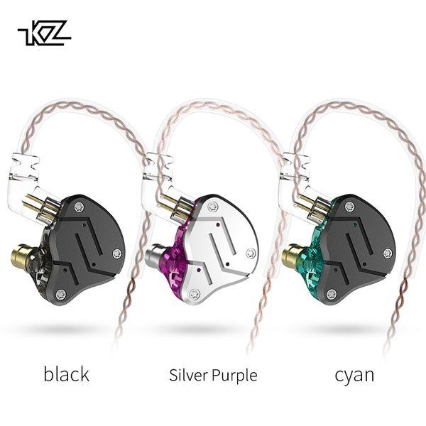 venta al por mayor ZSN 1BA + 1DD Híbrido en la oreja los auriculares HIFI DJ Monito Running Sport Auriculares Auriculares Auriculares al por mayor ZS10 ZST ZS6 al por mayor BA10