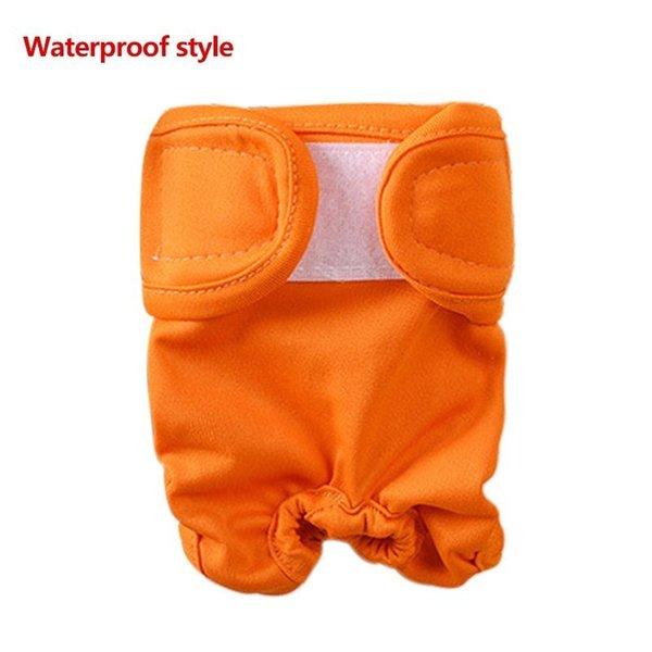 Wasserdicht orange