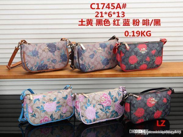 C1745 LZ Best price High Quality women Ladies Single handbag tote Shoulder backpack bag purse wallet