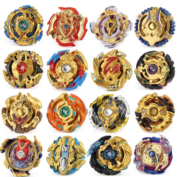 best selling 19 Designs Beyblade Burst Beyblade 4D Toupie Beyblade Burst Arena Beyblades Gold Metal Fusion Without Launcher and Box Bey Blade Blades Toys