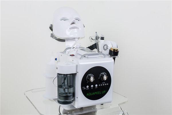Professionale Hydradermabrasion macchina Acquagetto Peel acqua dermoabrasione Skin Care ossigeno Hydra strumento macchina facciale di bellezza e Meso Gun