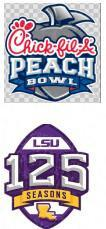 Peach Bowl with 125