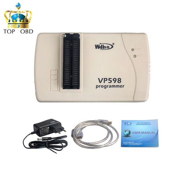 2019 NEW Promotion for Original Wellon VP598 Universal Programmer (Upgrade Version of VP390) with best price