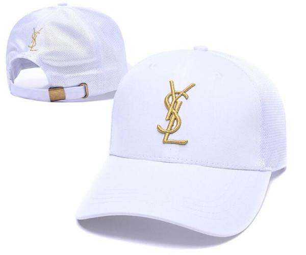 Nueva Llegada Unisex polo Cap Mujeres Hombres Béisbol Sombreros de algodón Ajustable Liso Golf Clásico Moda snapback hueso Casquette sol al aire libre sombrero de papá