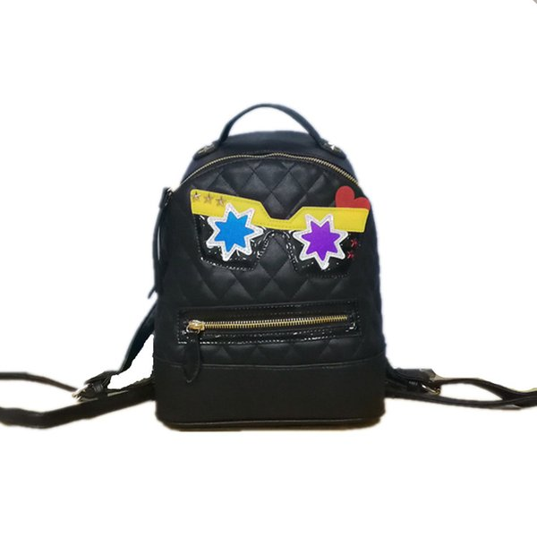 Women backpack PU leather Backpack Cute Ladies Shoulder BLack School Casual Bags High Quality New Brand Fashion Designer