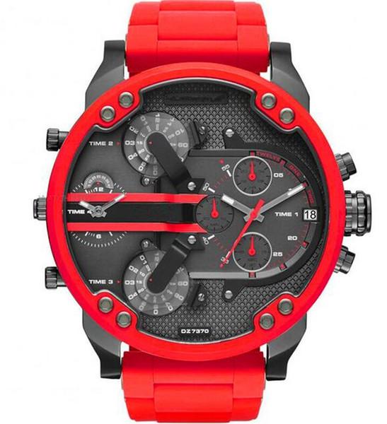Мужские спортивные часы New Luxury DZ Fashion Мужские наручные часы 50MM Большой циферблат А