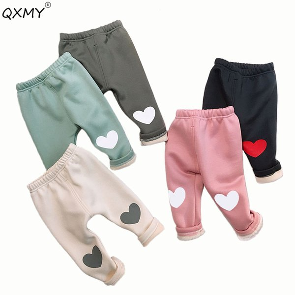 2018 winter warm thicken baby leggings fleece warm thicken large PP pants for baby boys girls kids outwear pants