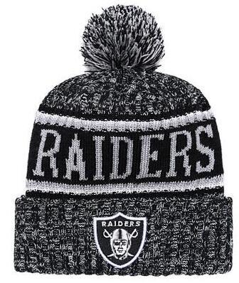Discount Price Fashion Beanie Sideline Cold Weather Graphite Sport Knit Hat All Teams winter Raiders Knitted Wool Skull Cap snapback