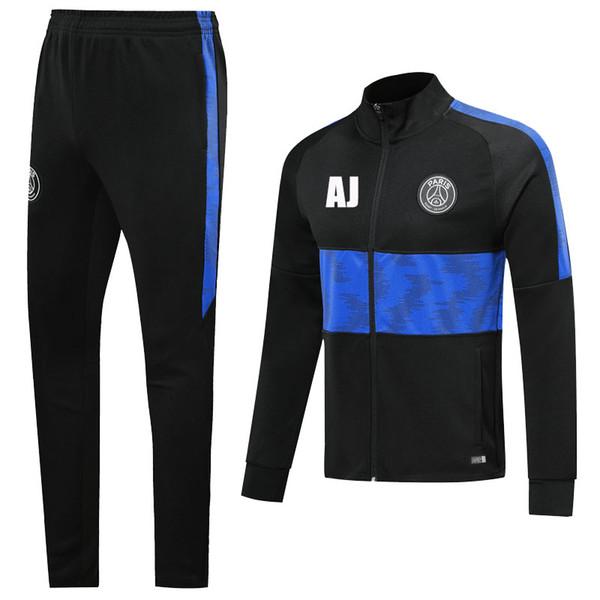 AJ PSG الأسود مع الأزرق