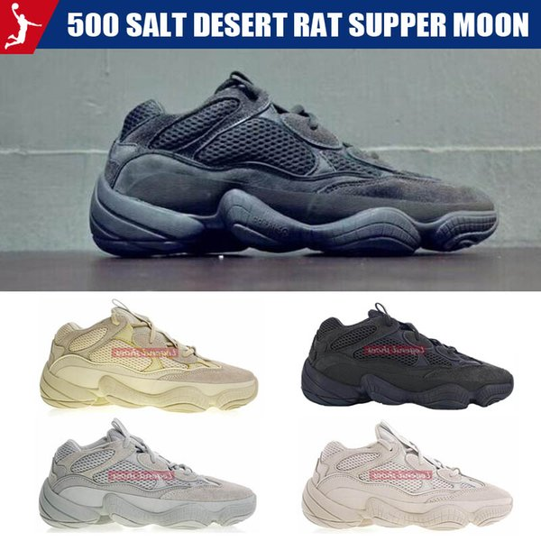 Wave Runner 500 Salt Desert Rat Supper Moon Yellow Black Blush 2019 Mens Womens Sneakers Cow Leather Running Shoes Reflective Sneakers