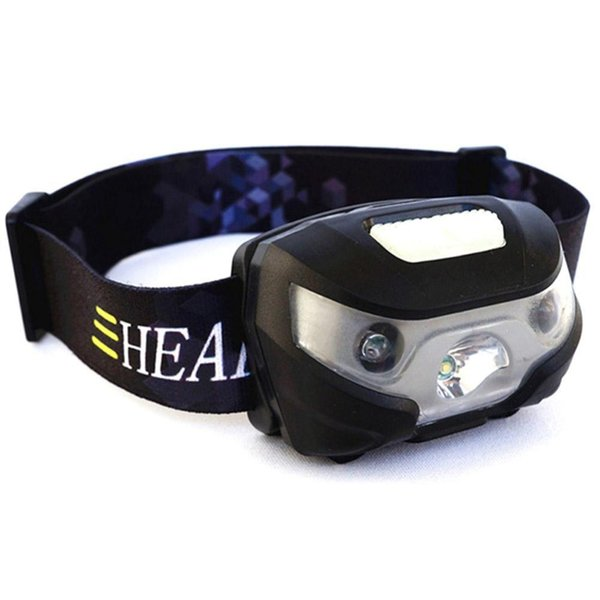 Mini Usb Led Headlamp Body Motion Sensor Camping Headlight Rechargeable Mountaineering Outdoor Adventure Home