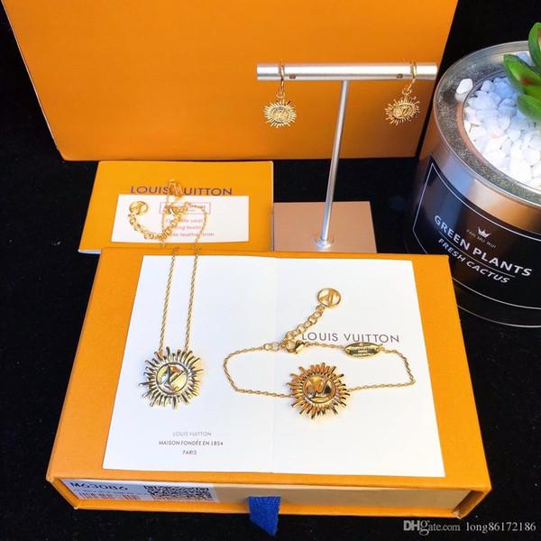 Дизайнерские серьги Роскошные дизайнерские украшения Женские серьги Place Vendôme Circle circle logo 2019 Роскошные модные аксессуары des boucles d '