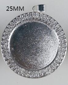 실버 라운드 25mm