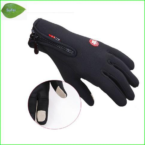 Wholesale- FT-P01 Windstopper outdoor skiing full finger gloves Cycling gloves,Touch screen gloves,Mountaineering Glove free shipping