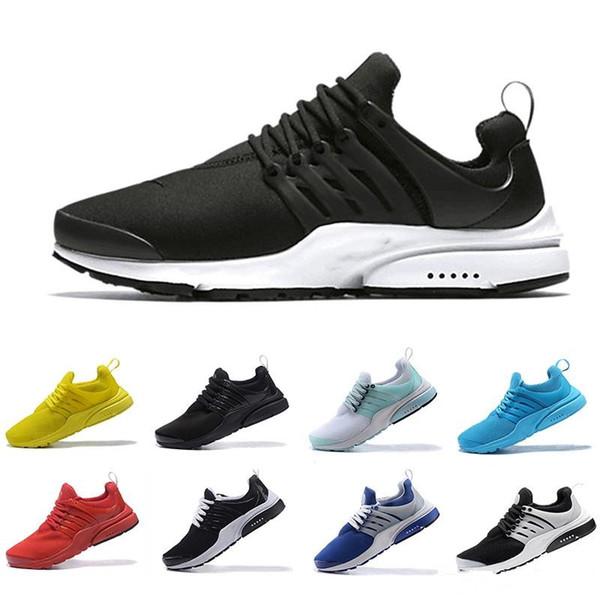2018 Новейшие PRESTO 5 BR QS Air Breathe Черный Белый Желтый Красный Мужская обувь Кроссовки Женские кроссовки Спортивная обувь Спортивная обувь для ходьбы