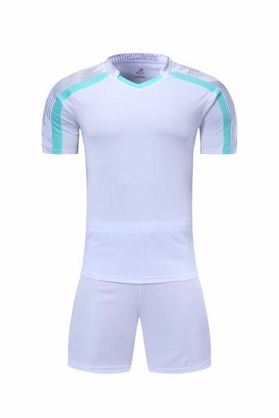 Últimas blanco Hombres fútbol jerseys calientes de la venta ropa al aire libre de fútbol de desgaste de alta calidad de la FLA