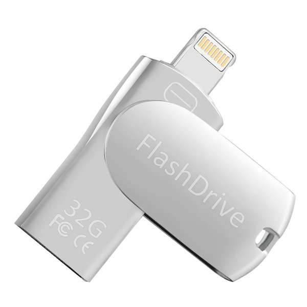 Genuine 32GB iPhone Flash Drive for iPhone X XR XS MAX,Photo Stick For iPhone 6,iPhone 6 Plus,iPhone 8 Plus, iPad Pro,External Storage