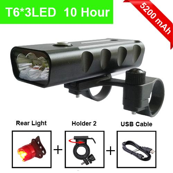 T6 5200mAh taillight