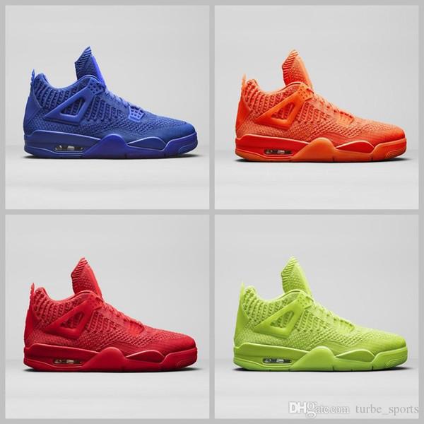 2019 Новый 4 IV 4s трикотажные мужские летние баскетбольные кроссовки University Red Volt Hyper Ro