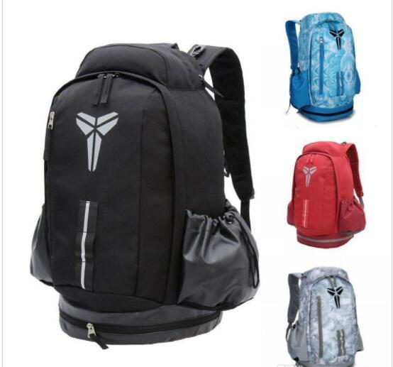Berühmte Marke Kobe Designer Backback Männer Frauen Schultaschen Outdoor Rucksack Jungen Mädchen Designer Tasche 5 Farbe