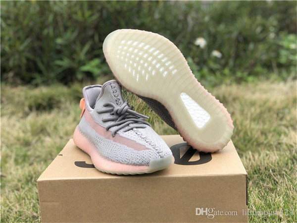 2019 Hottest Originals Authentic 350s V2 True Form Clay Trfrm Hyperspace Kanye West Men Women Running Shoes Sneakers EG7490 EG7491 EG7492