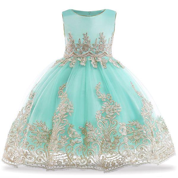 Aecbb50517 Vestido De Fiesta Para Niña Elegante Vestido