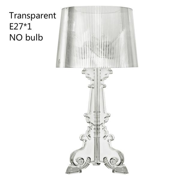 Transparent no bulb