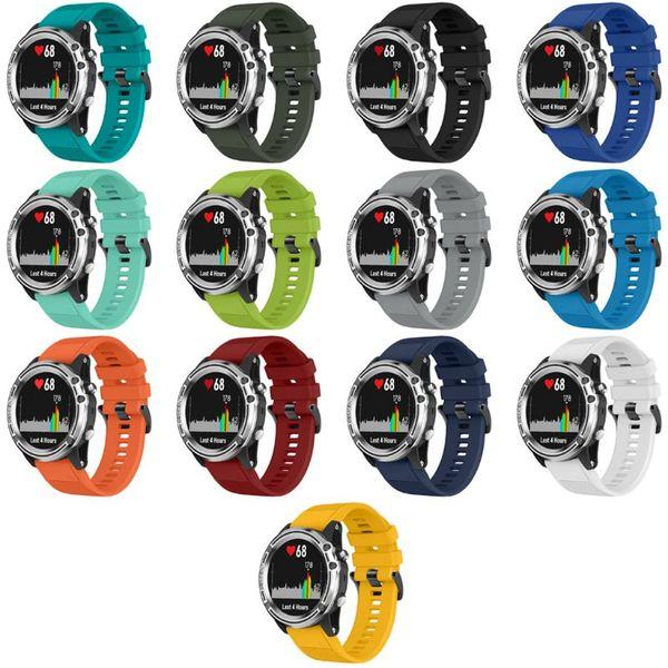 20MM Quick Release Silikonarmband für Fenix 5 5X Plus für Garmin Instinct Watch Quick Release Armband
