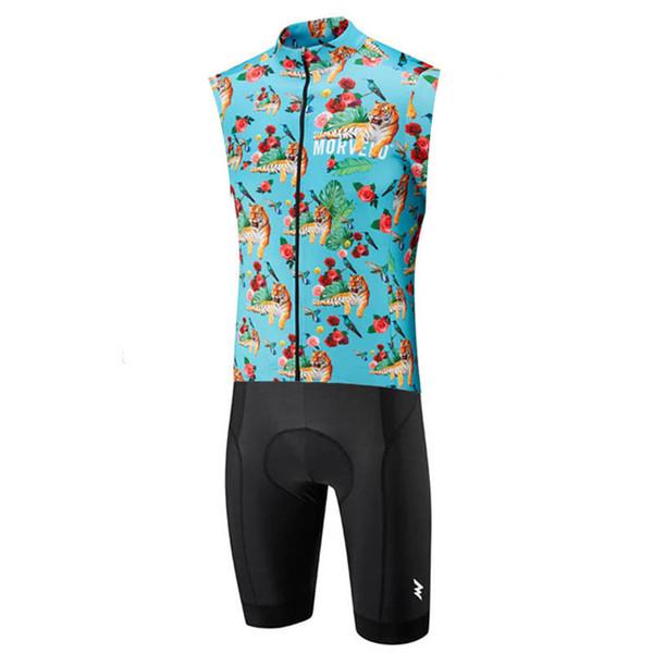 Morvelo Hombres sin mangas del mono de triatlón Traje Ropa ciclismo Maillot secado rápido de los jerseys de ciclo kit de ciclismo skinsuit sistema de la ropa de la bici