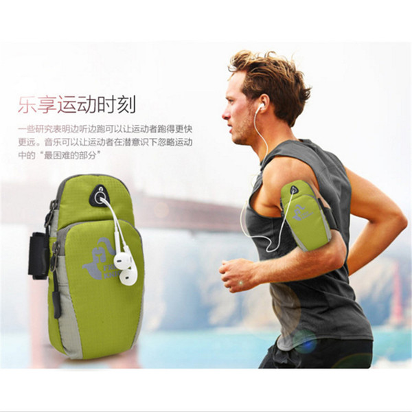 Best Armband for Running Smart Phone Sport Running Armband Holder Arm Band Bag Case Cycling Fitness Arm Wrist Pouch 8 color