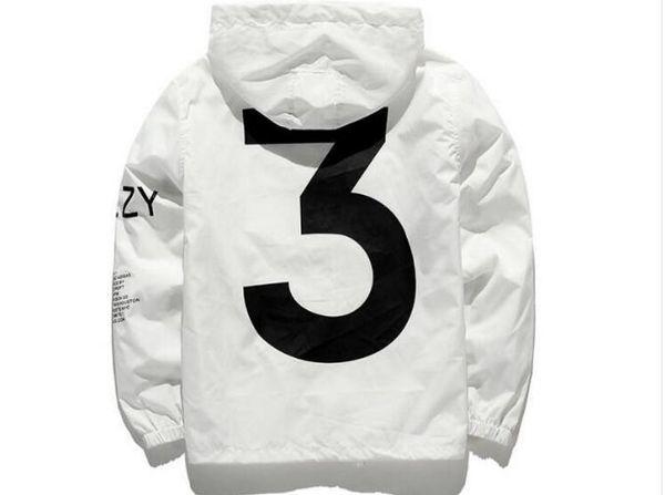 chaqueta de hombre chaqueta KANYE WEST Hombres cazadora Hip Hop cortavientos MA1 Pilot Hombre Chaquetas Tour YEEZUS Abrigo Season Y3