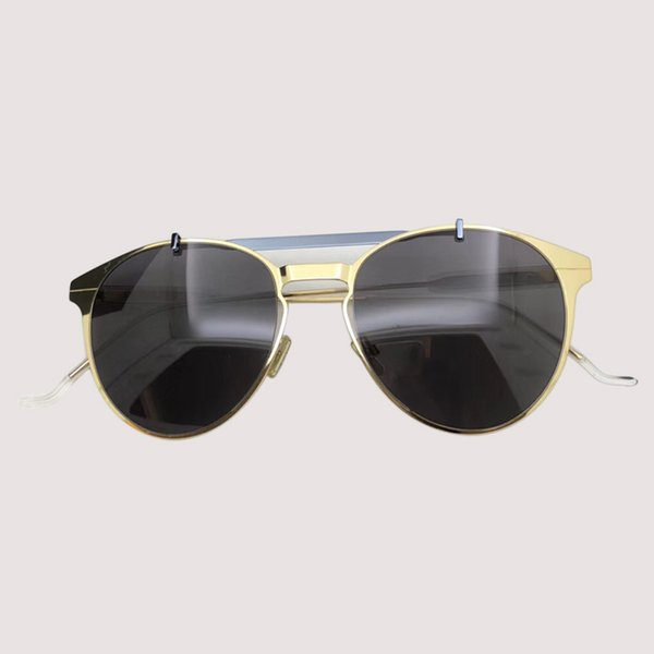 Ladies Oval Sunglasses 2019 New Style Sun Glasses Women Metal Frame Eyewear For Outdoor Shades Goggles Oculos