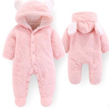 #4 Baby Hooded Rompers