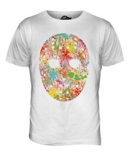 5a231003 Hockey Maschera Splatter Uomo T-Shirt Maglietta Giftcolourful Canada Men  Women Unisex Fashion tshirt Free