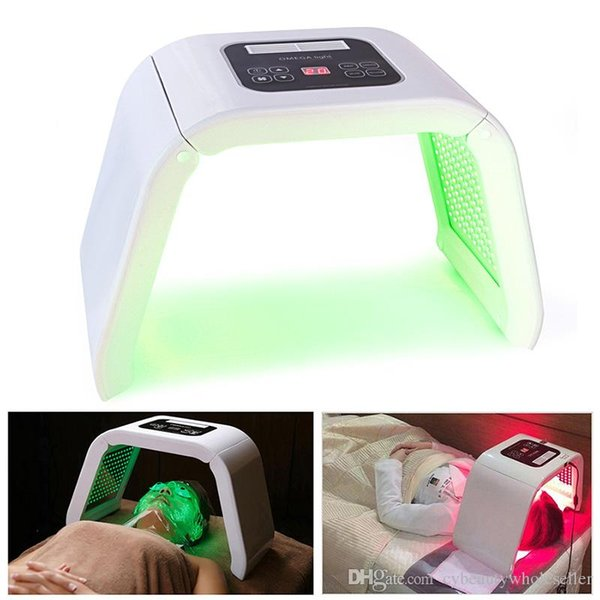 Nuova 7 colori luce PDT LED terapia acne lentiggine rimozione sbiancamento fotone macchina di bellezza