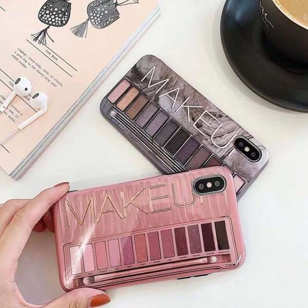 Novo silicone caixa de sombra caixa do telefone para o iphone 7 case macio luxo lustroso coque para iphone x 6 6 s 8 plus 7 mais xs max xr capa