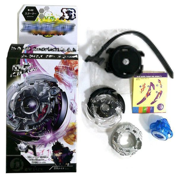 4D Beyblade BB803 Rapidity Top Fighting Gyro Starter Set with String Booster New Design spinning top Beyblades Toys for Kids