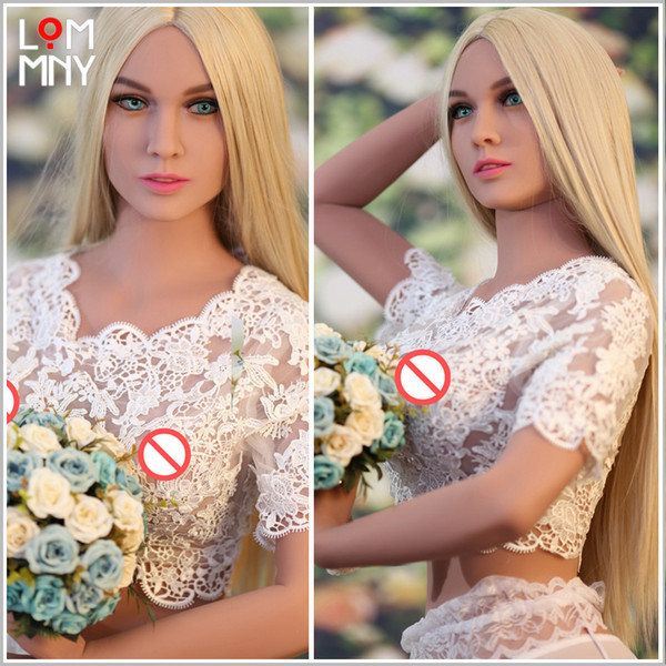 best selling LOMMNY NEW Top Quality Silicone Sex Doll for Men Oral Anal Pussy Adult Sexy Doll Japanese Big Breasts Realistic Silicone Love Doll