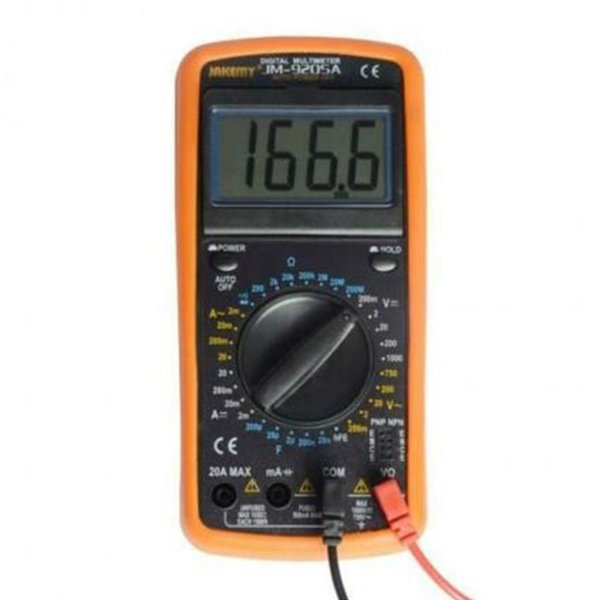 JM 9205A Digitalmultimeter Professionelle elektrische Handheld-LCD-Tester