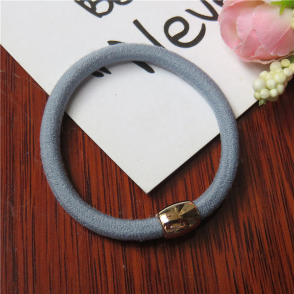 Golden Circle Solid Color Hair Accessories For Women Headband,Elastic Bands Hair For Girls,Hair Band Hair Ornaments For Kid
