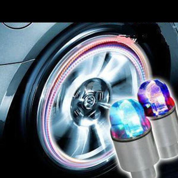 Válvula de imagen Funcional Durable Coche Batería de decoración múltiple Botón AG10 Luz x Luz LED Bicicleta como color 3 incluye