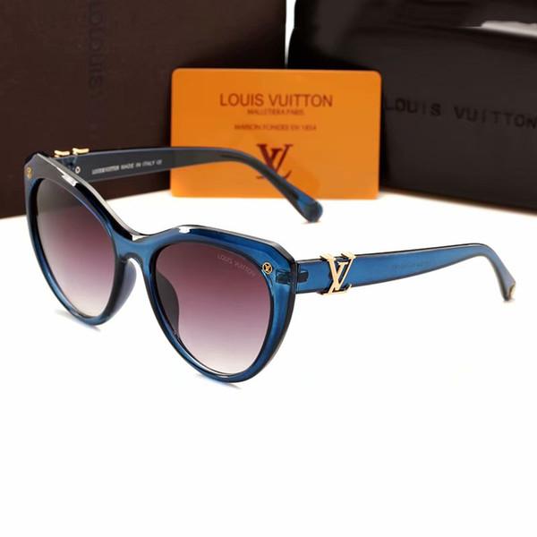 Moda Donna Occhiali Da Sole Progettista di Marca Grande Cateye Telaio Marchio Design Occhiali da sole di lusso in stile europeo occhiali da sole Occhiali da sole 1854 #
