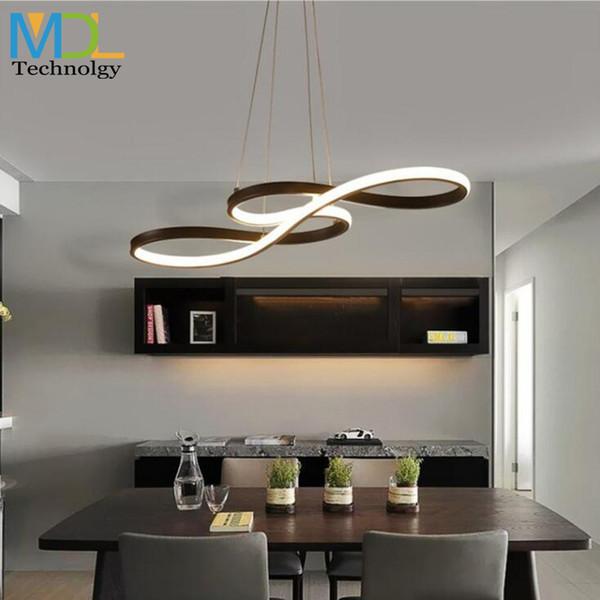 Minimalism Modern Led Pendant Lights For Dining Room Bar Suspension Luminaire Diy Hanging Suspendu Pendant Lamp Lighting Fixture Pull Down Pendant
