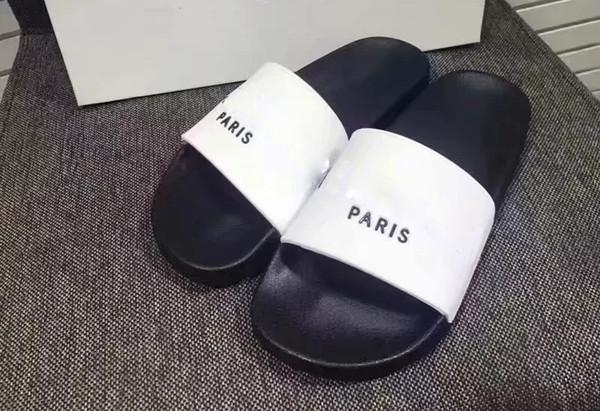 factoryoutletbrand / 2019 G pares nueva marca 14 estilos moda zapatillas causales niños niñas tian / blooms iniciar impresión sandalias de diapositivas unisex chanclas