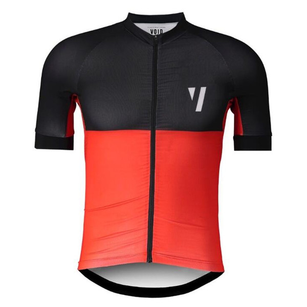 VOID Cycling Jersey Shirt For Men Short Sleeve MTB Bicycle Bike Road Riding Tops Clothing Maillot Italy Silicone Non-slip
