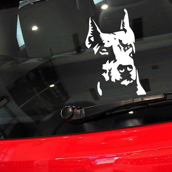Reflective Hound Car Stickers Pet Dog Door Motorcycles Electric Autos Decals