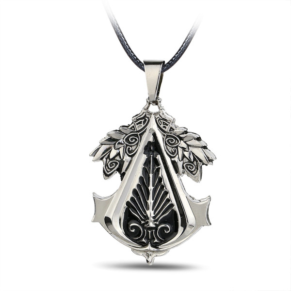 New Arrival Statement necklaces Phoenix Pendant Rope Chain The Organ Pattern necklace Game Accessory Cosplay Pendant