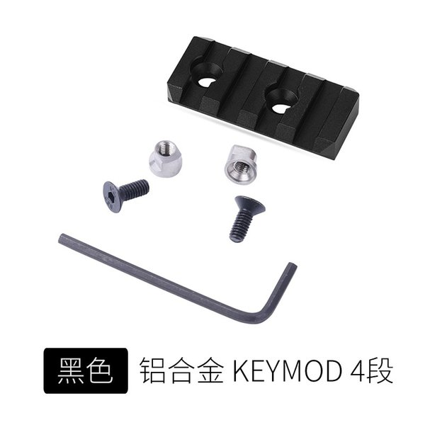 4 Slot Keymod Black